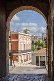 Dalt Vila, Ibiza, Spanien Arkivbild
