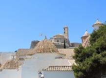 Dalt vila of Ibiza Town Stock Images