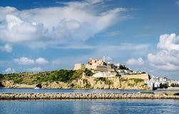 Dalt Vila van Eivissa De Balearen, Spanje Royalty-vrije Stock Foto