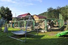 Dalta zoo på det turist- komplexet Fotografering för Bildbyråer