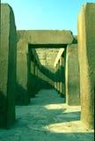 Daltempel av Khafre, EGYPTEN Arkivfoton