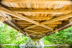 Dalton Covered Bridge. The Dalton Covered Bridge is a historic covered bridge that carries Joppa Road over the Warner River in Warner, New Hampshire Stock Photos