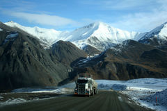Dalton Highway Royalty Free Stock Photo