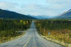 Dalton highway Royalty Free Stock Image