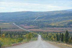 Dalton highway Royalty Free Stock Images