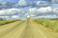 Dalton Highway en Alaska Photographie stock libre de droits