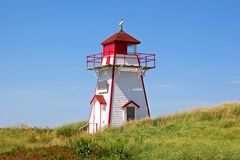 Dalvay Lighthouse stock image