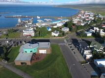 Dalvik is a village in North Iceland. It is a small but interesting beautiful place.