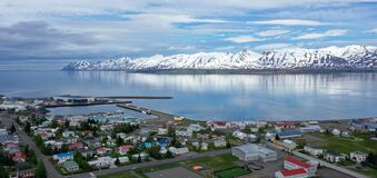 Dalvik is a small fishing town in Eyjafjordur in Iceland.
