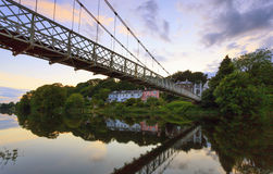 Daly's Footbridge, Cork, Ireland Royalty Free Stock Images