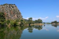 dalyan индюк реки Стоковое Изображение