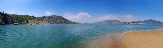 Dalyan panorama Royalty Free Stock Photo