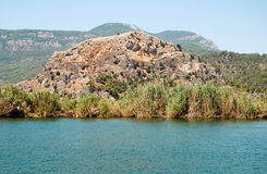 Dalyan river Stock Photography
