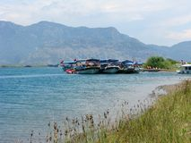 Dalyan river in turkey Royalty Free Stock Photos