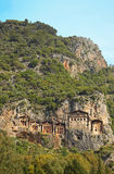 Dalyan Tombs, Turkey Royalty Free Stock Photo