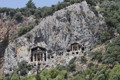 Dalyan, Turkey Royalty Free Stock Photos