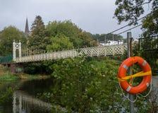 Dalys brug over de rivier Lee Stock Foto