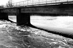 Dam stock afbeelding