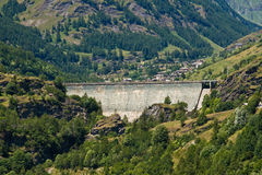 The dam royalty free stock photo