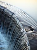 Dam. For water in the lake Royalty Free Stock Images