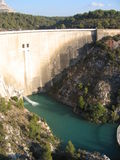Dam #2. Dam of bimont, saint victoire Royalty Free Stock Photography