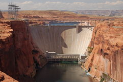 Dam. A Dam in Arizona, USA Stock Images