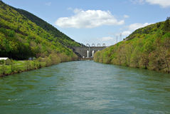 Dam stock photography