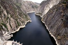 Dam of Aldeadavila Royalty Free Stock Photos