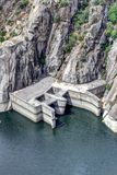 Dam of Aldeadavila Royalty Free Stock Photo