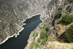 Dam of Aldeadavila Royalty Free Stock Photography