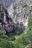 Dam of Aldeadavila Royalty Free Stock Images
