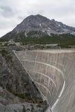 Dam in the alps Stock Image