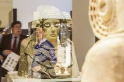 Dam av Elche reflexioner, iberian konst Royaltyfria Bilder
