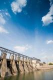 Dam, beautiful cloudscape Stock Photo