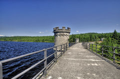 Dam from Bedrichov Royalty Free Stock Image
