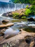 Dam and cascades on the Cullasaja River Stock Photos