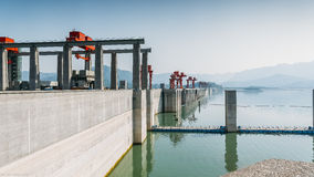 The dam stock photo