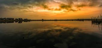 Dam Chuon lagoon. Dam Chuon in hue , Viet Nam Royalty Free Stock Images
