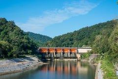 Dam closed Royalty Free Stock Photo