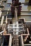 Dam construction Stock Photo
