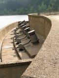 Dam construction Stock Image