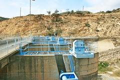 Dam in Cyprus Stock Images