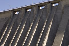 Dam detail Royalty Free Stock Image