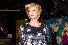 Dam Diana, vaxdiagram, Amsterdam för madam Tussauds arkivfoton