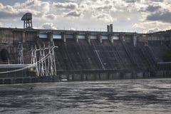 Dam in Divnogorsk. Krasnoyarsk krai. Russia Stock Photography