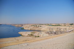 Dam in Egypt Royalty Free Stock Image