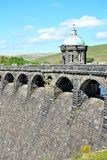 dam in Elan Valley in Wales, UK Stock Photo