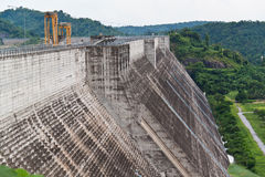 Dam for electricity generating Royalty Free Stock Image