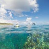 Dam Elliot Island fotografering för bildbyråer