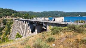 Dam at Encoro de Prada.  Galicia Stock Images